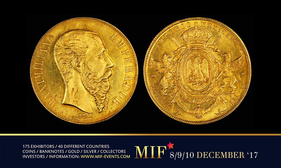 Maastricht International Fair - Mexican Gold Peso