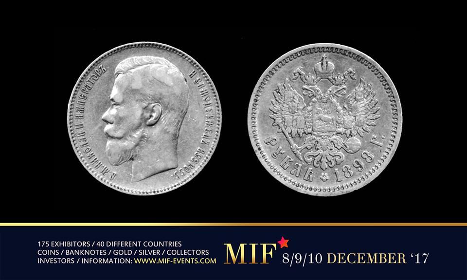 Maastricht International Fair – Russische Gouden en Zilveren munten