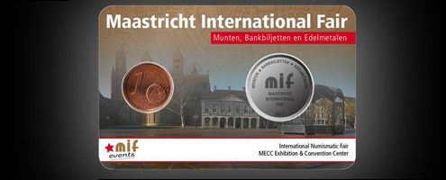 Maastricht International Fair – MIF 2017 Coincard - Limited Edition