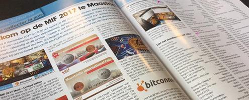 Nice article on the MIF Fair in the Dutch magazine Muntkoerier