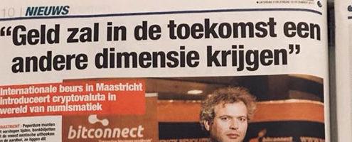 Newscoverage in Belang van Limburg (Belgian newspaper)