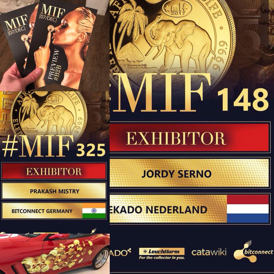 The MIF exhibitor keycord badges are custom made with dedication