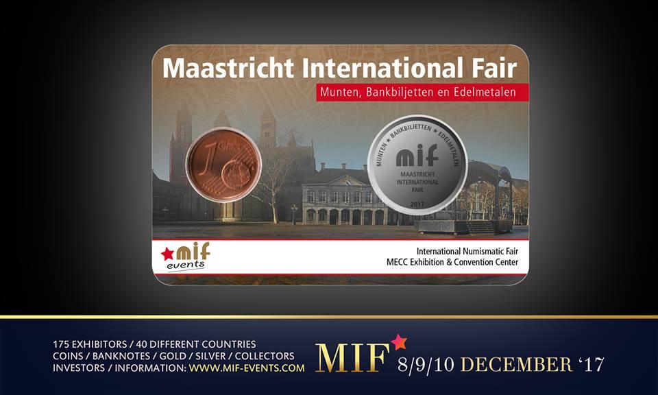 Maastricht International Fair – MIF 2017 Coincard - Limited Edition