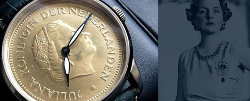 Royal Coin Watches offers fine Dutch Coin watches